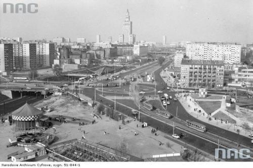 Plac Zawiszy, 1969.